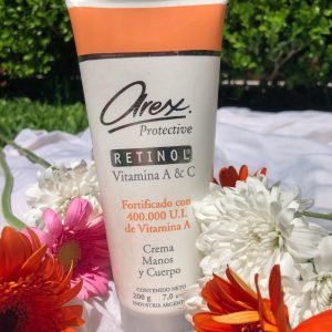 Crema Manos y Cuerpo 200g – Arex RETINOL