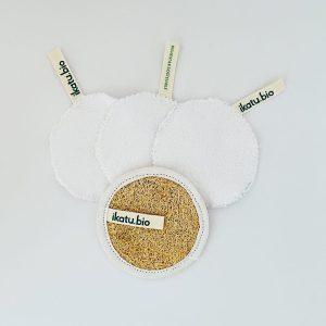 Kit de Limp. Facial reutilizable+1 Exfoliante IKATU