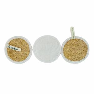 Discos Exfoliantes Reutilizables Pack x 3 IKATU