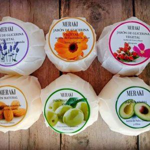 Jabón de Coco y Oliva MERAKI 50 g